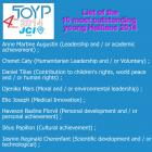 The Ten Outstanding Young Person 2014 for Haiti