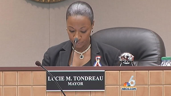 Mayor Lucie Tondreau arrested by FBI for mortgage fraud