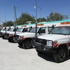 Delivery of 10 ambulances to the Ambulance National Center (CAN)