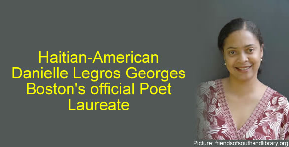 Danielle Legros Georges, Boston's official Poet Laureate