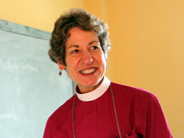 Presiding Bishop Katharine Jefferts Schori in Cap-Haitian, Haiti
