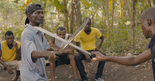 Haitian Machete Fencing martial art