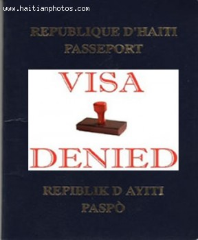 United States Revoked Visa Of Haitian Officials, Haitian Passport