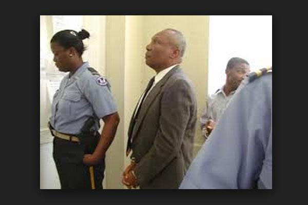 Former Haiti President Prosper Avril arrest in 2001