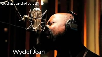 Artist Wyclef Jean In The Music Video Sak Passe Ayiti