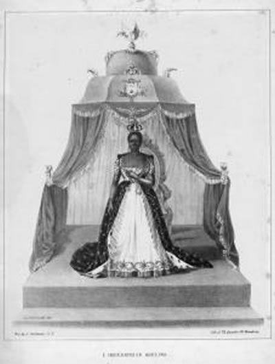 Adélina Soulouque, Empress Consort of Haiti, wife of Faustin I of Haiti