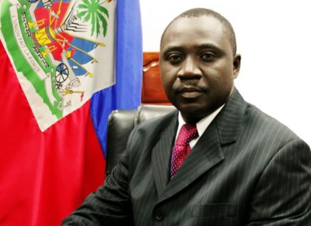 Thomas Jacques, Minister of Agriculture, Natural Resources and Rural Development