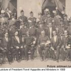 President Florvil Hyppolite and Ministers in 1889