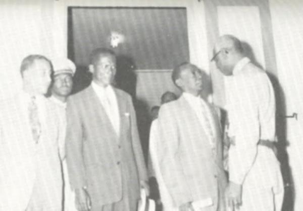 Haitian President Franck Sylvain, General Leon Cantave, Fignole