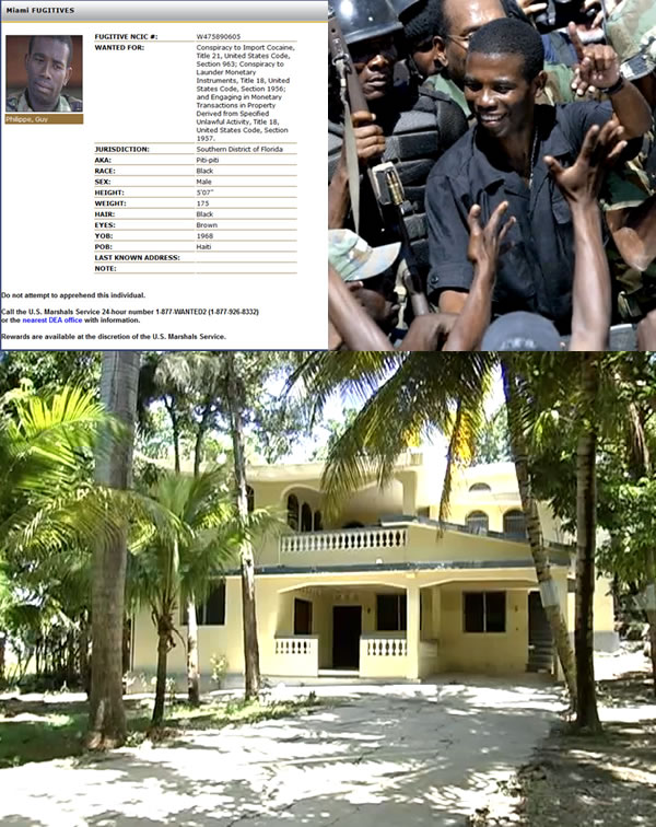 Ex-Haitian rebel Guy Philippe in hiding after U.S.-led drug offensive