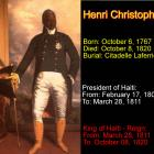 Who is Henri Christophe?