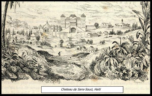 Sans-Souci Palace, also called Chateau de Sans-Souci