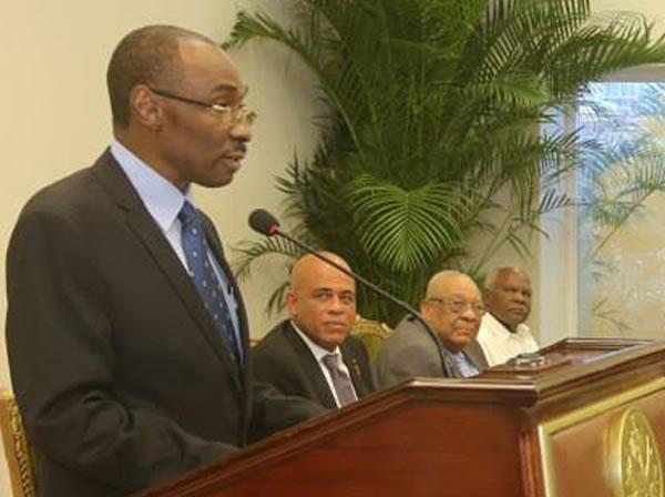 Evans Paul Haiti's next Prime Minister