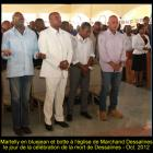 Presidend Michel Martelly criticized for wearing blue jean, death of Dessalines