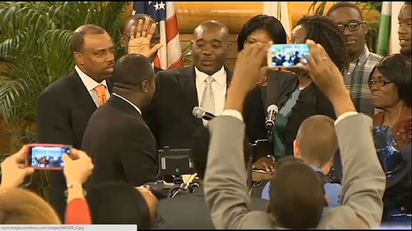 Jean Monestime, 1st Haitian American Miami-Dade Commission chairman sworn