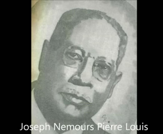 Joseph Nemours Pierre-Louis, interim president of Haiti