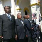 President Boniface Alexandre with Prime Minister Gerard Latortue