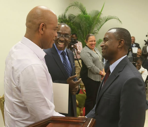 Minister of Communication, Rotchild FRANCOIS JR, Michel Martelly