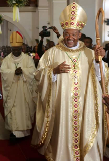 Archeveque metropolitain du Cap-Haitien, Mgr Max Leroy Mesidor