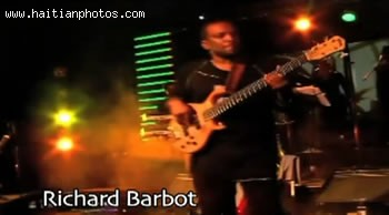 Artist Richard Barbot In The Music Video Sak Passe Ayiti