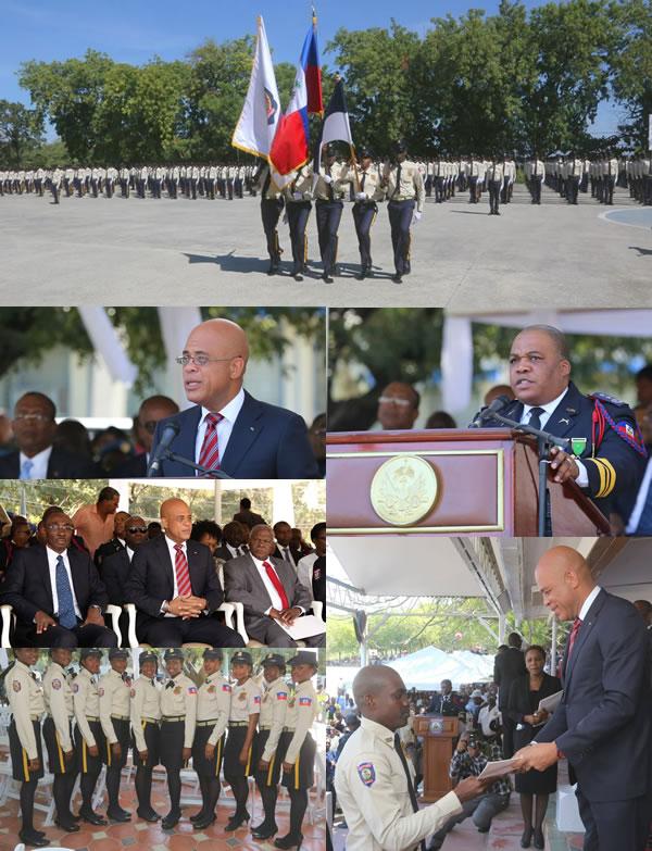 Graduation of 1,118 new agents of Haiti National Police(PNH)