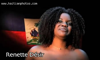 Renette Desir In The Music Video Sak Passe Ayiti