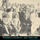 Haitian President Louis Borno