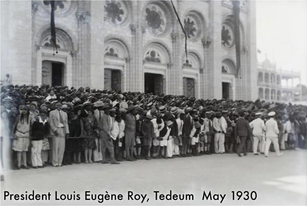 Louis Eugene Roy, Haitian President