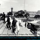Louis Eugene Roy entering