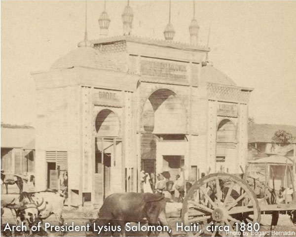 Arch of President Lysius Salomon