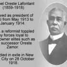 Michel Oreste, one of the many Presidents of Haiti