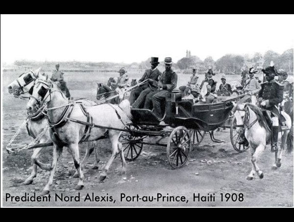 President Nord Alexis in 1908