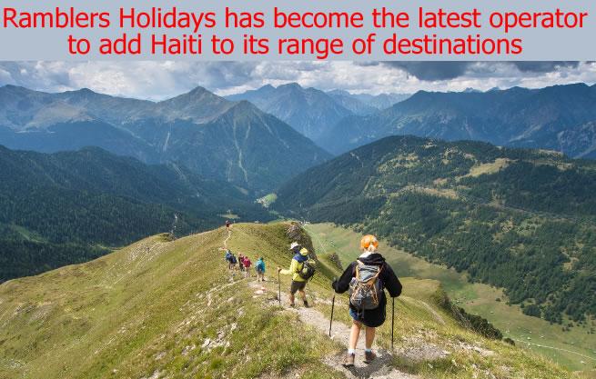 Ramblers Holidays add Haiti to its range of destinations