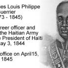 Jean-Jacques Louis Philippe Guerrier, career officer, President of Haïti