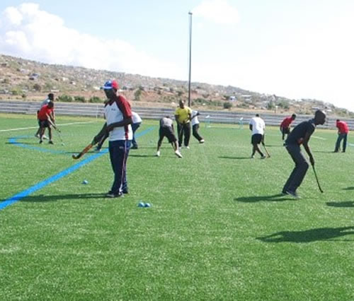 Caching course held in Haiti by Haitian Hockey Federation