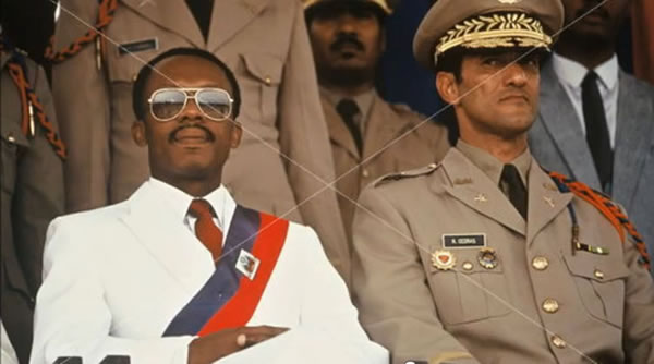 Jean Bertrand Aristide and Raoul Cedras