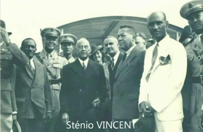 President Stenio Vencent