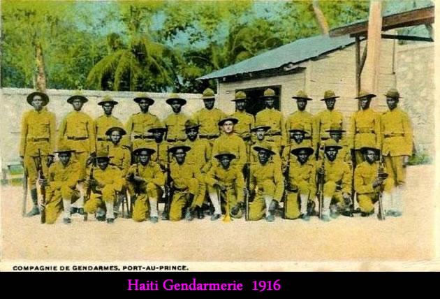 Haiti Gendarmerie in 1916