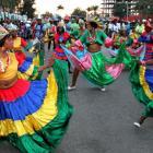 Street dancing - Haiti Kanaval Picture 2015