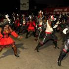 Women dancing - Haiti Kanaval Picture 2015
