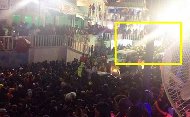 Barikad crew electrocuted during Kanaval