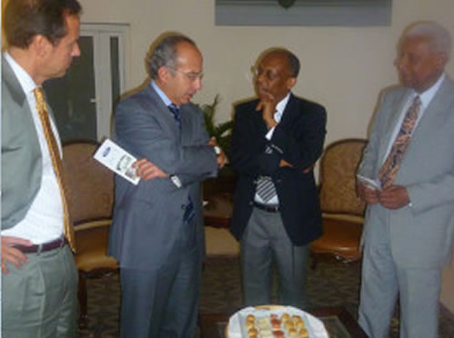 Club of Madrid met with Jean Bertrand Aristide