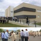 President Martelly at new premises of CIMO