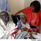Haitian Couple married for 82 years, Duranord and Jeanne Veillard