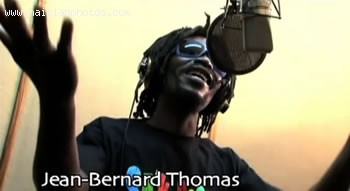Artist Jean-Bernard Thomas In The Music Video Sak Passe Ayiti