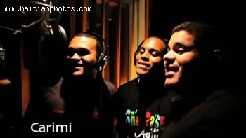 Artist Carimi In The Music Video Sak Passe Ayiti