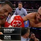 Sergey Kovalev stops Haitian boxer Jean Pascal