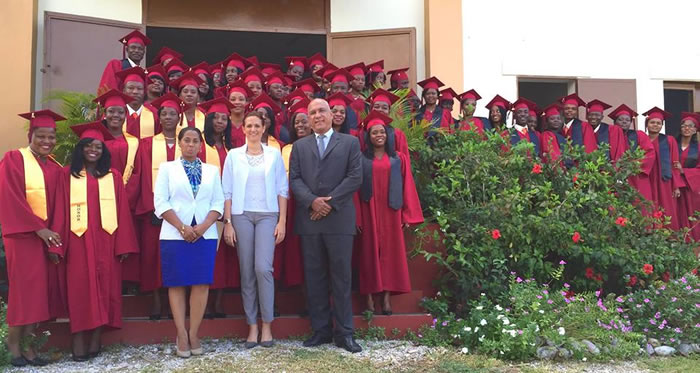First Promotion of Institute of Hotel and Tourist Training of Les Cayes