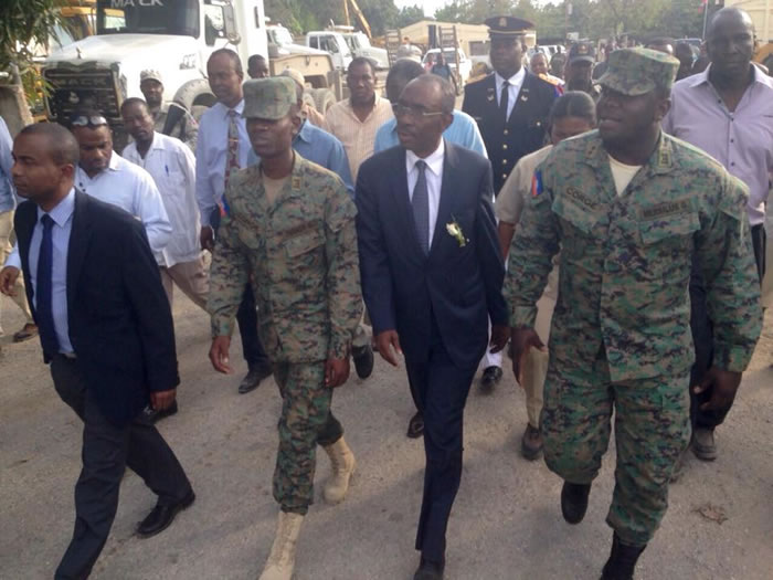 Prime Minister Evans Paul in favor of a Military force in Haiti