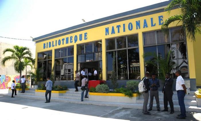 Bibliotheque Nationale D'Haiti. Port-au-Prince